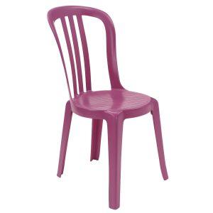 Grosfillex Miami Bistrot - Chaise de jardin en résine