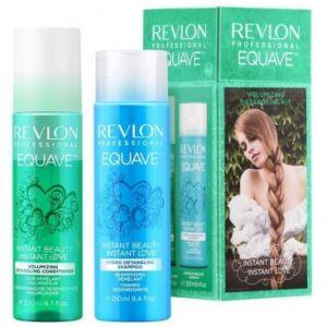 Revlon Equave - Coffret soin démêlant volumateur et shampooing démêlant