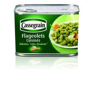 Cassegrain Flageolets extra-fins cuisinés - La boîte de 706g