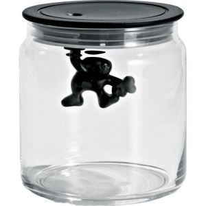 Alessi Boîte Gianni a little man holding on tight en verre (70 cl)