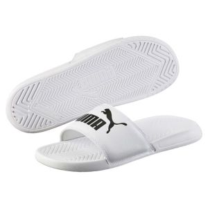 Puma Popcat, Chaussures de Cross Mixte Adulte, Blanc White Black, 44.5 EU