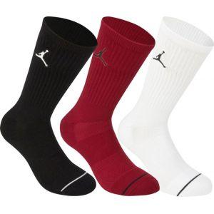 Jordan Chaussettes de basketball Jumpman Crew (3 paires) - Noir - Taille XL - Unisex