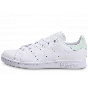 Adidas Stan Smith Blanc Vert Femme 40 Tennis