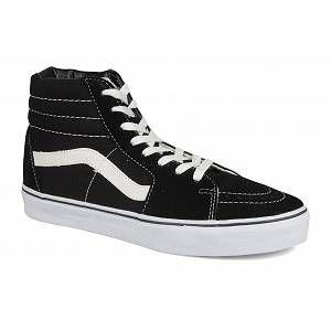 Vans U Sk8-Hi, Baskets mode mixte adulte - Noir (Black/Black/Whi), 44 EU