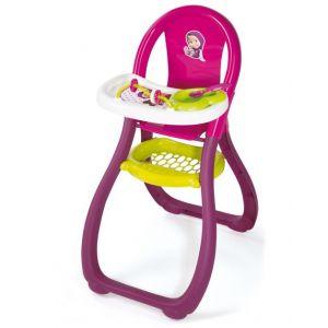 Smoby Chaise haute Masha