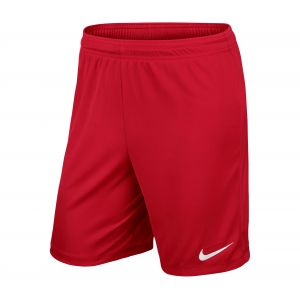 Nike Park II Knit Short (No Briefs) Mixte Enfant, University Red/White, FR : S (Taille Fabricant : S)