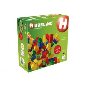 Hubelino Toboggan compatible duplo - briques multicolores 102 pièces