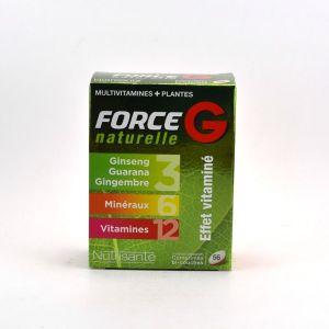 Nutrisanté Force G naturelle multivitamines et plantes - 56 comprimés