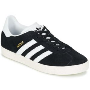 Adidas Gazelle, Baskets Mixte Enfant, Noir (Core Black/Footwear White/Gold Metallic 0), 36 2/3 EU