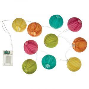 Guirlande L ineuse LED 120cm Multicolore Prix