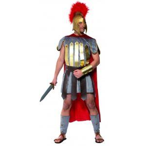 Déguisement de gladiateur romain avec casque (taille L)