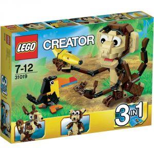 Lego 31019 - Creator 3 en 1 : Les animaux de la forêt
