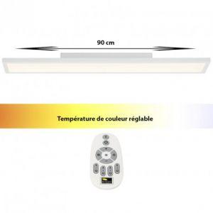 Brilliant AG Dalle LED 30 W blanc chaud, blanc neutre, blanc lumière du jour Smooth G20888/05 blanc