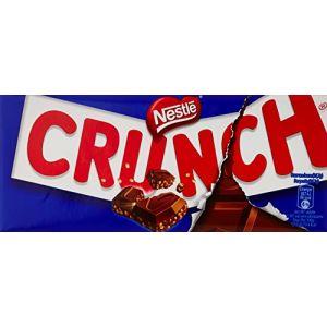 Nestlé Crunch Chocolat lait et aux Céréales - 2 tablettes de 100g