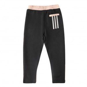 Adidas Jogging enfant Comfi carbon pant girl Gris - Taille 5 / 6 ans,7 / 8 ans