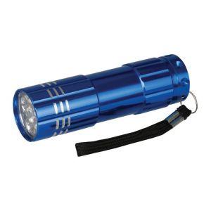 Silverline Torche à LED en aluminium - 9 LED -