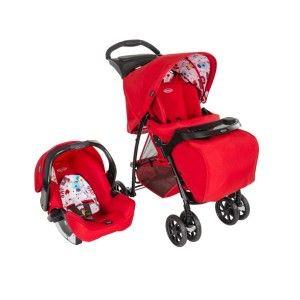 Graco Mirage+ Travel System (2014) - Combiné Duo avec poussette et siège auto Junior Baby