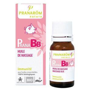 Pranarôm PranaBB - Huile de massage défenses naturelles