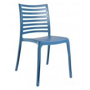 Grosfillex Sunday - 4 chaises de jardin en résine