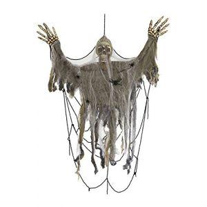 Squelette dans toile d'araignée (183 cm)