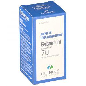 Lehning Gelsemium Complexe n°70 - 30 ml solution gingivale