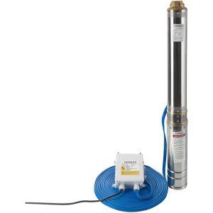 Arebos Pompe de puits profond (4 pouces, 1100 W, 4000 l/h)