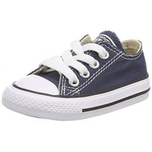 Converse Chuck Taylor All Star Core Ox, Baskets mode mixte enfant - Bleu (Marine) - 22 EU (6 UK)