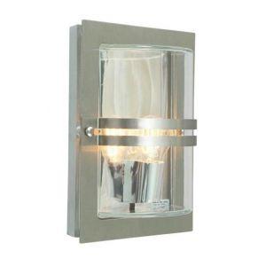 Norlys Applique extérieure design Basel Gris Fonte d'aluminium 660ST