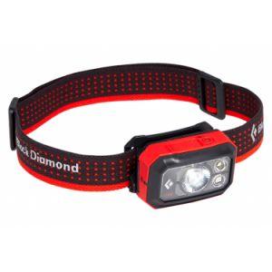 Black Diamond Storm 400 Headlamp - Lampe frontale noir/rouge