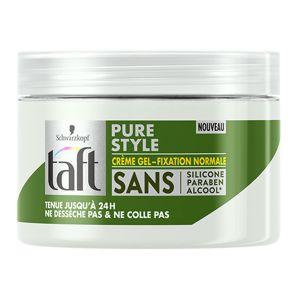 Schwarzkopf taft Pure style Crème gel - Fixation normale