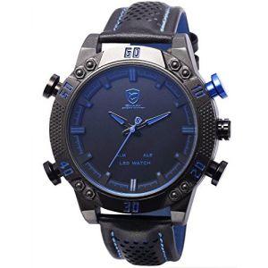 Image de Shark Sport Watch SH265 - Montre pour homme avec bracelet en cuir
