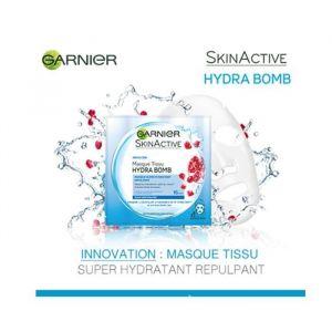 Garnier SkinActive Masque tissu Hydra Bomb hydratant à la grenade