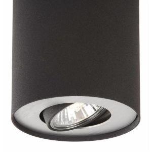"Philips MyLiving Plafonnier ""Pillar"" 50 W Noir 5633030PN"