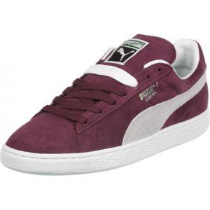 Puma Suede Classic + 35263475, Baskets Mode Homme - EU 41 - Rouge (cabernet white)