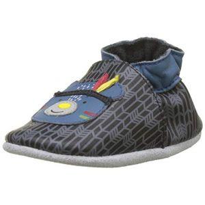 Robeez WOODNIGHT, Chaussures de Naissance Mixte bébé, (Noir 8), 17/18 EU
