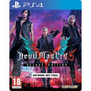 Devil May Cry 5 - Deluxe Steelbook Edition [PS4]