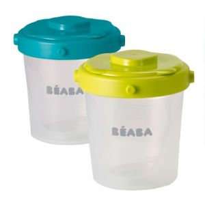 Beaba 912482 - 6 portions clip 200 ml