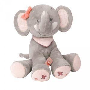 Nattou Peluche Adèle l'éléphant 28 cm