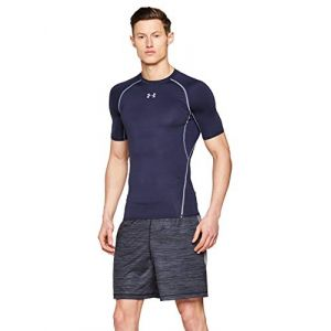 Under Armour T-shirt T-shirt Compression HeatGear Armour - 1257468-410 bleu - Taille EU XXL,EU S,EU M