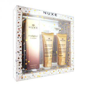 Nuxe Prodigieux - Coffret eau de parfum, huile de douche et lait parfumé
