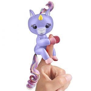 Wow wee Figurine Fingerlings bébé licorne interactif : Alika