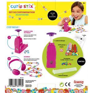 Lansay Cutie Stix - Set de customisation écouteurs