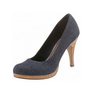 Tamaris 22407, Escarpins Femme, Bleu (Navy Jeans), 36 EU