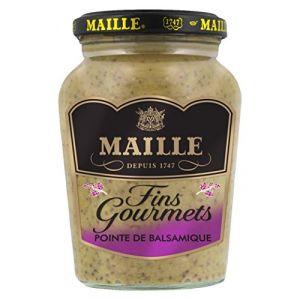 Maille Spécialité Moutarde Fins Gourmets Pointe de Balsamique 345 g