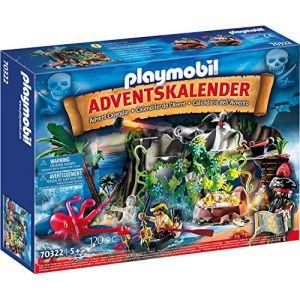 Playmobil Calendrier de l'Avent Pirates 70322