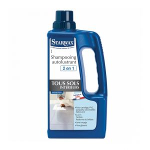 Starwax Shampooing autolustrant brillant pour sols carrelés (1 L)