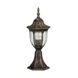 rabalux Luminaire Petit Lampadaire Extérieur Lanterne De Jardin Classique Lampe Sur Pied IP43 Or Antique 2/2/877