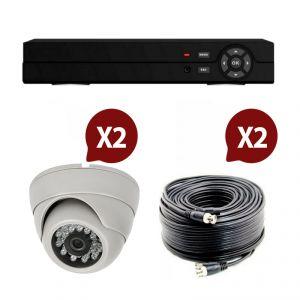 Atlantic's Kit video surveillance AHD 2 caméras dôme N°2