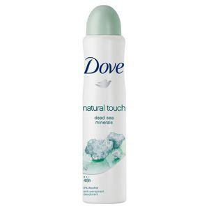 Dove Natural Touch - Déodorant spray anti-transpirant 48h