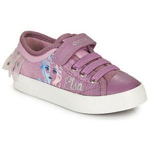 Geox Baskets basses enfant JR CIAK GIRL violet - Taille 24,25,26,27